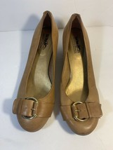Coach and Four Tan  Wedge Shoes Size 8.5 - $20.22