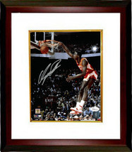 Dominique Wilkins signed Atlanta Hawks 8x10 Photo Custom Framed (dunk co... - $94.95