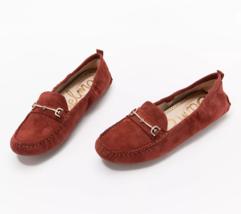 Sam Edelman Women's Suede Moccasins - Falto Rosewood  Size 8 M - $59.39
