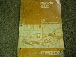 1982 Mazda Glc Service Reparatur Shop Manuell Fabrik Autohaus OEM Buch 82 - $7.42