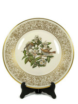 "Lenox Wood Trush Round Collector Plate Boehm Birds Limited Ed 10 5/8"" - $20.78"
