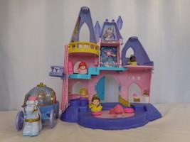 Little People Disney Princess Musical Castle + Princess Tiana +  Carriage + Prin - $37.64