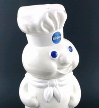 "1988 Pillsbury Dough Boy Cookie Snack Jar Poppin Fresh 12"" Bakery Baking... - $60.03"