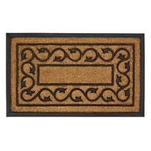 Doormat Outside, Ivy Vines Coir Outdoor Decorative 18x30 Welcome Mat - $33.29