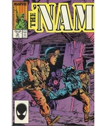 "(CB-6} 1987 Marvel Comic Book: The ""NAM #10 - $2.00"
