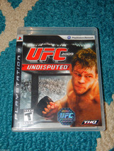 UFC Undisputed 2009 (Sony Playstation 3, 2009) MMA Free Shipping! Very Good - $9.89