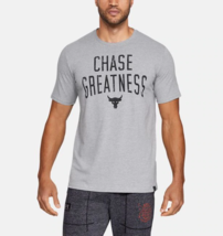 Under Armour Mens UA Project Rock Chase Greatness HeatGear T-Shirt 13263... - $26.23