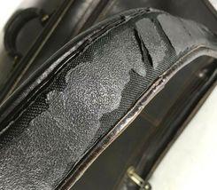 Santa Fe Dilana Vintage Dark Brown Leather Briefcase Laptop Bag – Distressed image 9