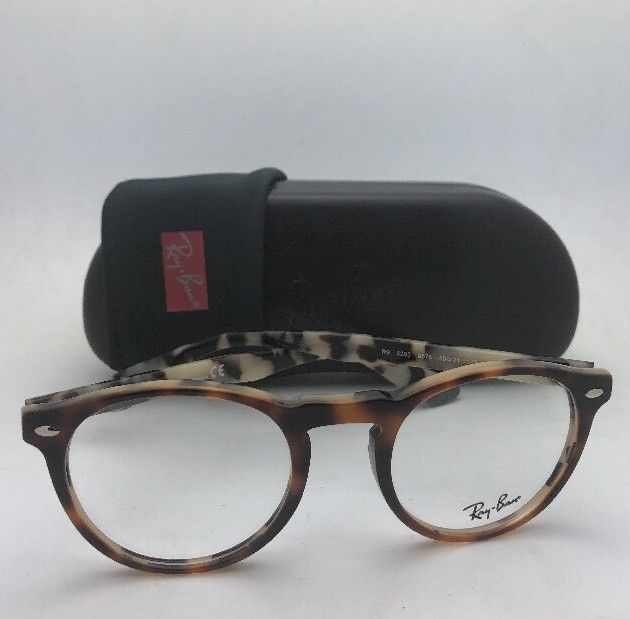 e449250a8bc3c New RAY-BAN Eyeglasses ICONS RB 5283 5676 49-21 145 Havana on Beige
