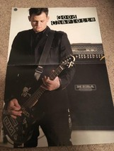 Good Charlotte Ciara teen magazine poster clipping Bravo rockin out on guitar