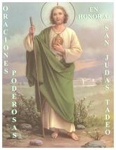 Oraciones Poderosas en Honor San Tudas Tadeo image 1