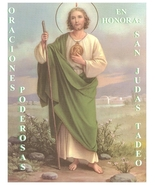 Oraciones Poderosas en Honor San Tudas Tadeo - $3.49
