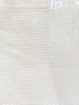 Cross Stitch Fabric Aida 18 Count White 12 x 18 by Charles Craft - $6.66