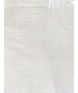 Cross Stitch Fabric Aida 18 Count White 12 x 18 by Charles Craft - $6.66