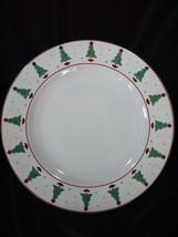 Debbie Mumm Magic of Santa Sakura Set of 4 Dinner Plates Vintage 1998 Christmas - $20.00