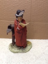 Norman Rockwell Native Indian See America First Old Man By Mailbox Figurine - $15.00