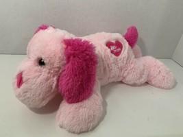 Best Made Toys plush Valentine's Day puppy dog pink Be Mine heart stuffed animal - $17.81