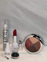 TIGI Cosmetics Knockout Set - Eyeliner Eyeshadow Lip Luxe-Gloss & Red Lipstick - $36.24+