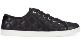 Donna Karan DKNY Women's Blair Fashion Demi Black Quilted Sneakers Shoes SIZE 6 - $89.09