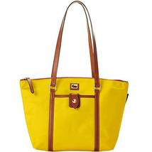 Dooney & Bourke Wayfarer Nylon Zip Tote Yellow