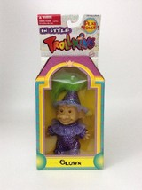 Toymakers The Original Trollkins In Style Play House Clown Troll Doll - $12.42