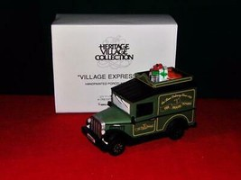 Department 56-HERITAGE VILLAGE Series Village Express Van 1992 #58653-NIB - $12.87