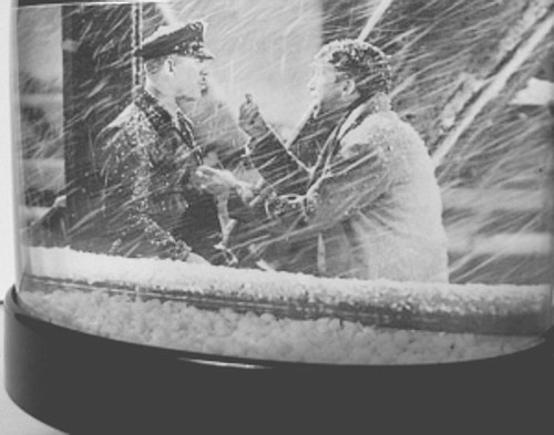 George bailey bridge scene it s a wonderful life