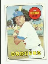 JIM LEFEBVRE 1969 TOPPS #140 DODGERS - $2.02