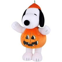Peanuts Snoopy Halloween Greeter Plush  The Great Pumpkin Charlie Brown ... - $49.49