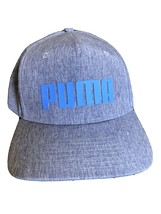Puma Dry Cell Tour Exclusive Snap Back Golf Hat Gray - £10.20 GBP