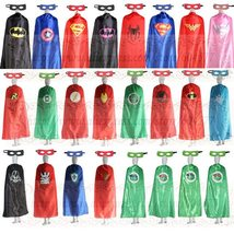 55inch/140cm Adult Superhero Cape And Masks Halloween Costume Party Favors - $20.99