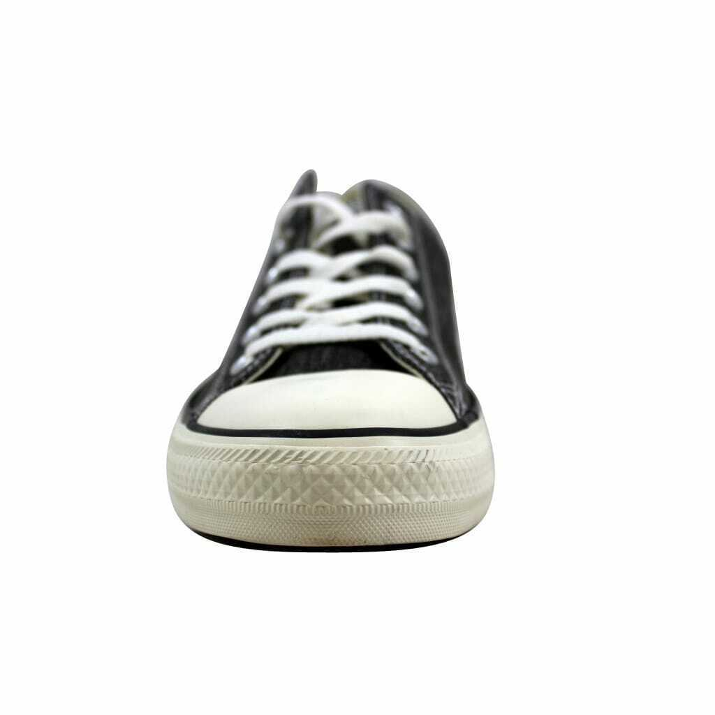 Converse Chuck Taylor Ox Black Egret/Black Denim 147037F Men's Size 4