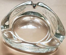 "CAMEL Vintage Triangular Clear Glass Ashtray, 3-1/2"" x 1"" - $9.95"