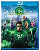 Green Lantern (Blu-ray/DVD, 2011, 2-Disc Set, Extended Cut)