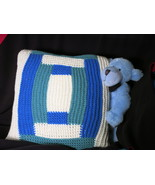 Handmade knitted decorative cushion cover - home decoration- 40 x 40 cm - $25.00