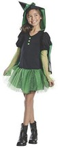 Rubies Wizard of Oz Wicked Witch of The West Hoodie Dress Costume, Child... - $18.69