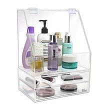 2-Piece Drawers Acrylic Cosmetic Skincare Jewelry Accessory Organizer Bo... - $66.65