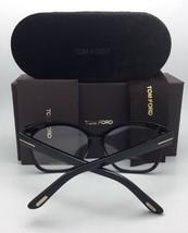 New TOM FORD Eyeglasses TF 5374 001 54-15 135 Shiny Black & Matte Gold Frames