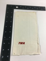 VINTAGE TWA AIRLINES  INFLIGHT SERVICE PAPER NAPKIN  - $8.66