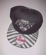 Los Angeles Kings NHL Vintage Hockey New Era Zubaz Baseball Cap One Size Fit All - $22.76