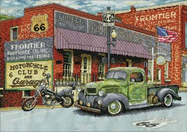 """Design Works Counted Cross Stitch Kit 14""""X20""""-Frontier Hardware (14 Count) - $32.73"""