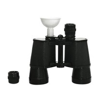 Flask For Men, Black Binoculars Insulated Novelty Unique Vintage Alcohol... - €20,79 EUR