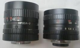 Fiji Optical FUJINON-TV  1 : 1.4 / 16 and 1 : 1.7 / 35 pair of lenses - $99.99