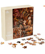 Disney Parks 2021 Wilson Cats And Dogs Reversible Two Sided 1000 Puzzle New - $39.59