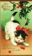 Christmas Cat Magnet #40 - $6.99