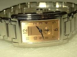 Tiffany & Co. Grand Resonator Retro St. Steel Quartz Watch Champagne Dial - $1,212.75