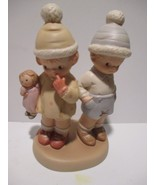 """1994 Enesco Memories of Yesterday-Too Shy for Words Porcelain Bisq.6""""  F... - $12.86"""
