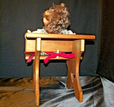 Cabbage Patch Doll sitting at a Large Wooden School Desk AA-191964  Collectible image 5