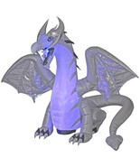 HALLOWEEN Projection ANIMATED Wings DRAGON Airblown Inflatable  8 FT NEW... - $223.49