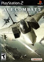 Ace Combat 5 Unsung War Playstation 2 PS2  Disk Only - $7.75